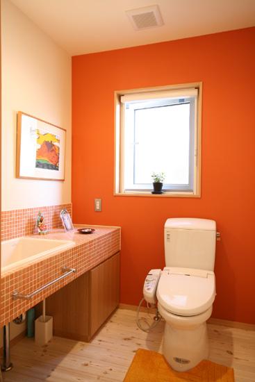 オレンジトイレ